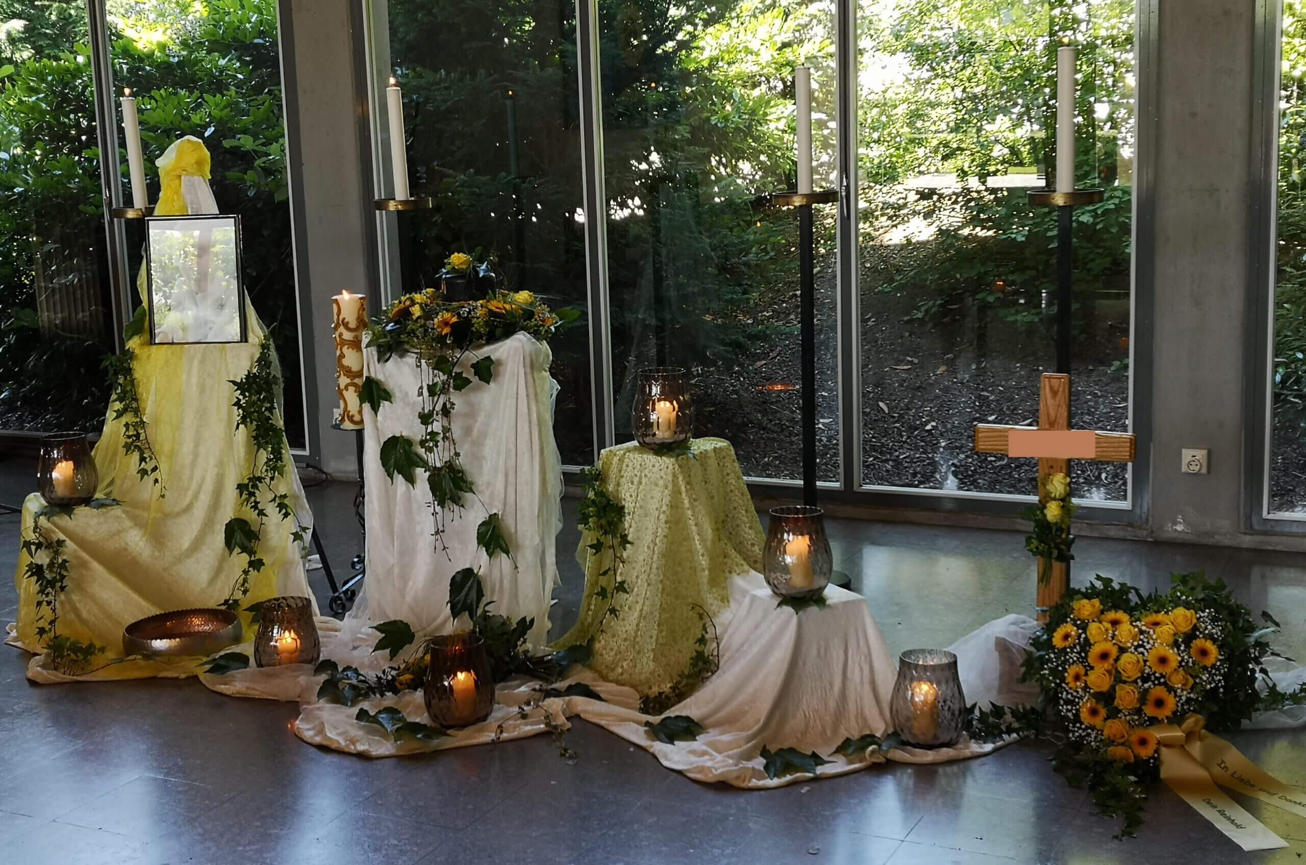 Aussegnungshalle Marienfriedhof
